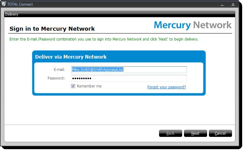 Mercury Network - SFREP Delivery