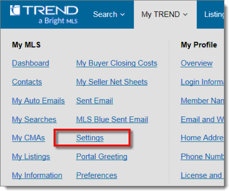 3016 - How to export data from TREND MLS for Titan Analytics