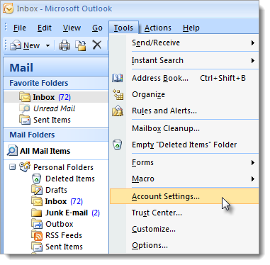 7200 - Configuring mail clients and mobile devices for CertMail
