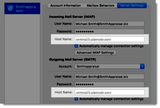 7202 - Update an existing CertMail account to use secure servers