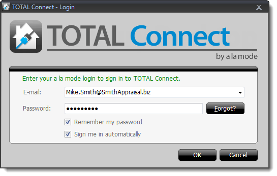 Login to TOTAL Connect